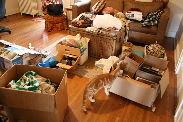 Image result for getting rid of clutter in home