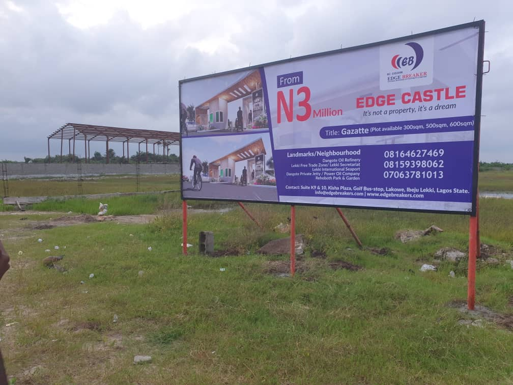 Lagos Lekki-plot of land