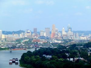 A view of Cincinnati.