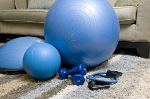 Fitness equipment.