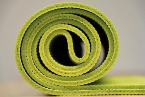 A yoga mat.
