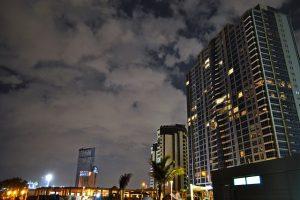 Jeddah at night.