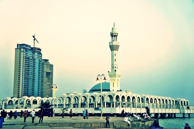 A mosque.