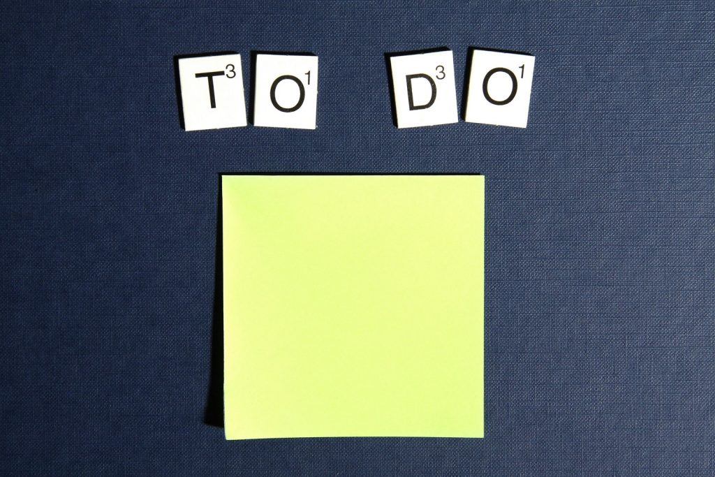 A to-do list for planning to organize your Bound Brook move.
