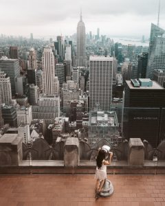 An outlook of NYC buildings. Unfortunately, house pests in NYC are pretty common
