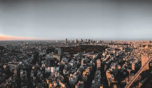 A view of Tokyo.