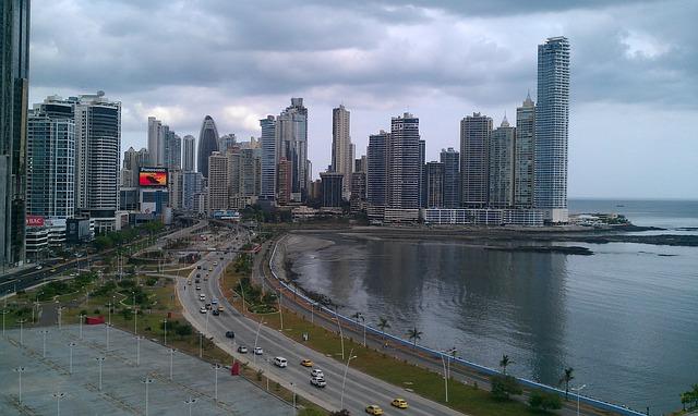 Skyline of Panama Bay.