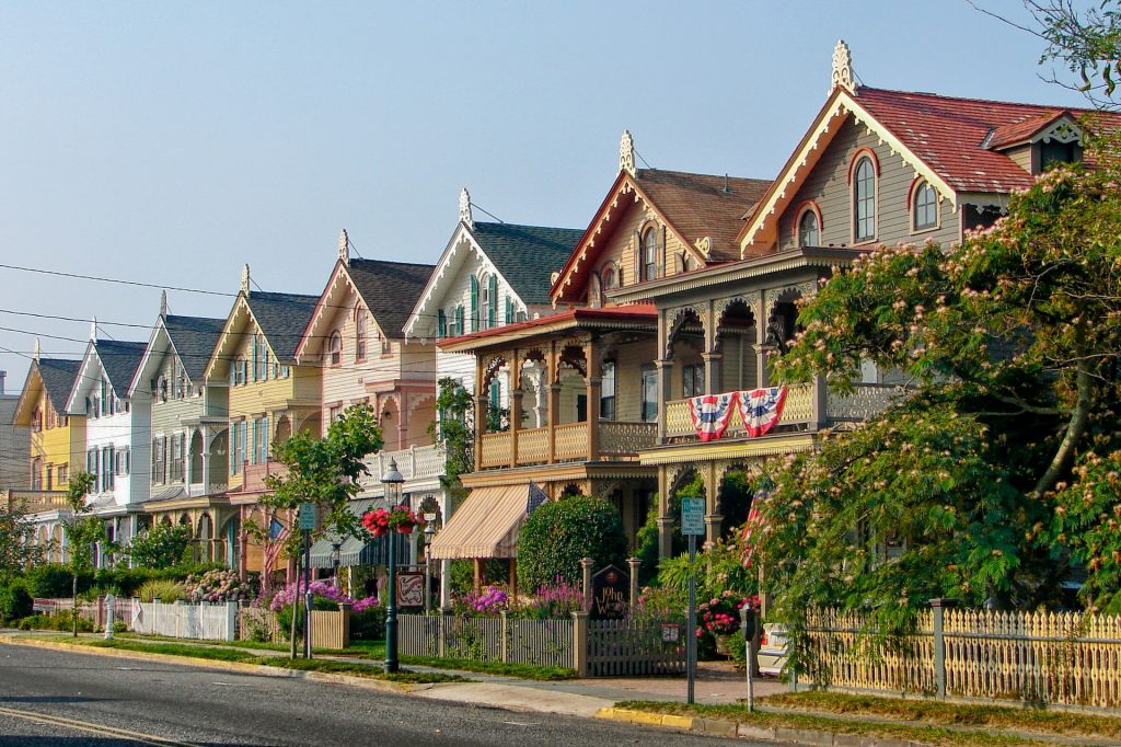 A picturesque street in New Jersey.