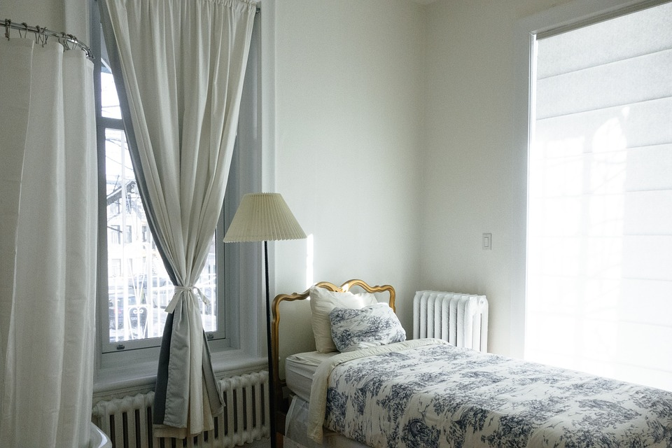 A nice bedroom in one of the condos you should consider when buying a condo in Ottawa.