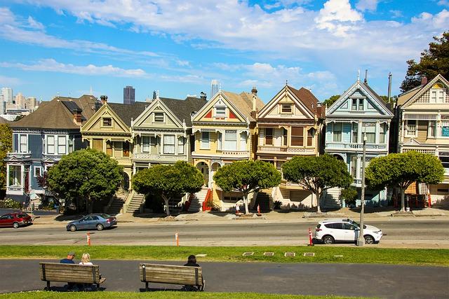 Older housings in California.