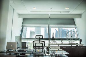 A modern office space in Kuwait.