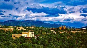 A view of Santa Fe.