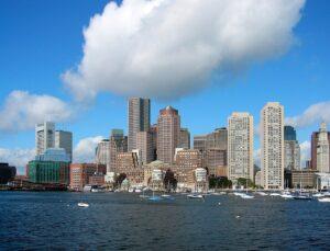 Boston cityscape.