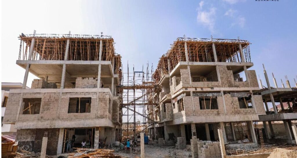 Houses for sale in Lagos -The Apartment and the Willows located at the Monastery Road Sangotedo