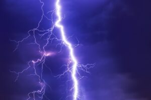 A thunderstorm as one of the concerns Florida homeowners have is the bad weather.